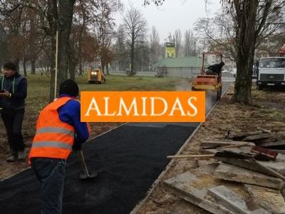 Almidas - дорожно-строительная компания в Киеве